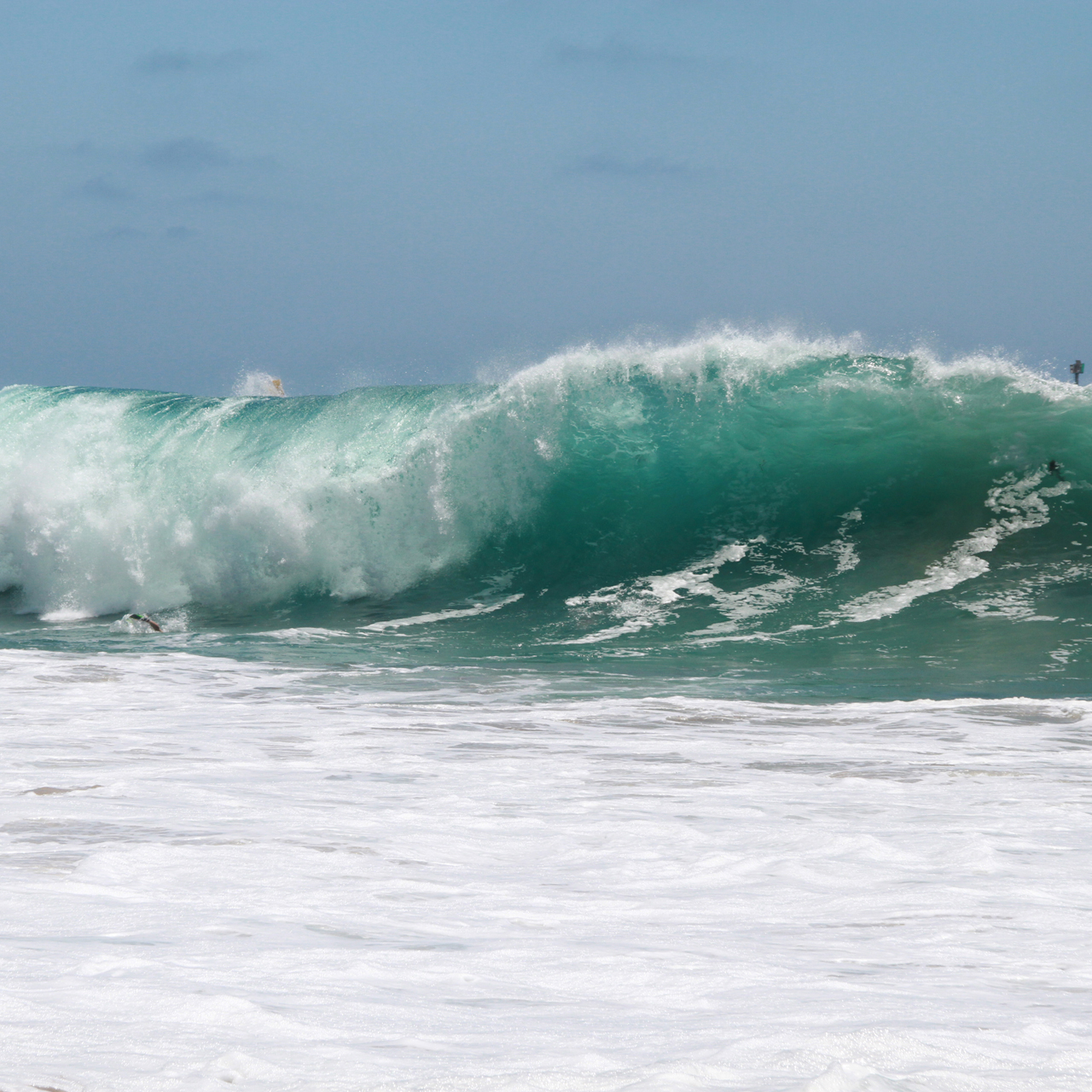 Surf at The Wedge Newport Beach, California 2014 July