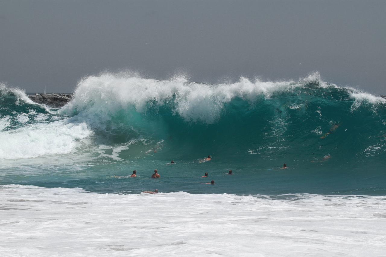 Newport Beach - The Wedge Surf 2014 07 07