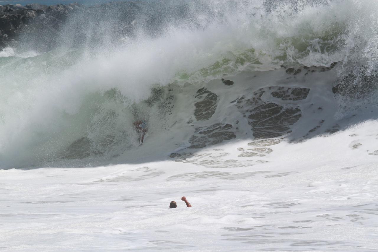 Bodysurfer @ The Wedge, August 27th, 2014