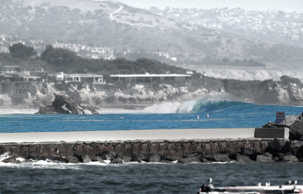 Unplundered Lefts at Little Corona | Corona Del Mar, CA | Hurricane Marie August 27th. 2014